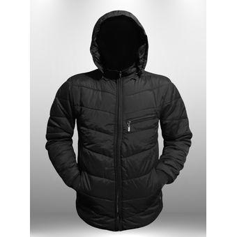 selección premium a5e73 060ef Chaqueta Abrigo Termica Impermeable Invierno Hombre Caballero Ganesh A019 -  Negro