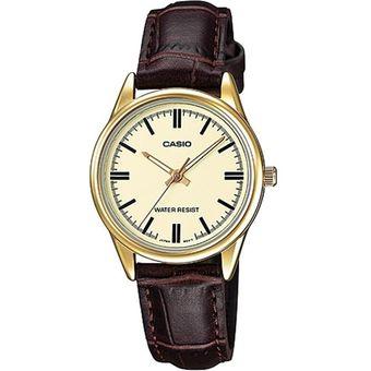 ea87e2149cc7 Compra Reloj Casio Mujer LTP V005GL 9A - Pulso En Cuero online ...