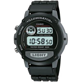 88ef0feac1f8 Reloj CASIO W-87H-1VH ILUMINATOR Collection Digital Multifunción-Negro