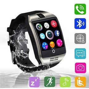 ddd8f170edb7 Reloj Q20 Inteligente Bluetooth Para IOS Teléfono Android - Plata