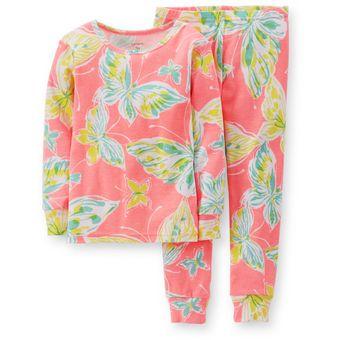 60a45cdfc0 Compra Carter´s - Pijama de Algodón Niña x 2 - Neón Multicolor ...