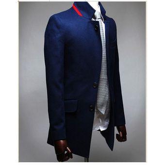 2b75374a4c Compra chaqueta blazer de estilo elegante para hombres de color azul ...