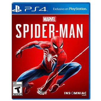 Marvel Spiderman – PS4 – Físico