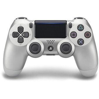 Compra Joystick V2 Sony Dualshock PS4 Silver Plata online  e789a95a374e