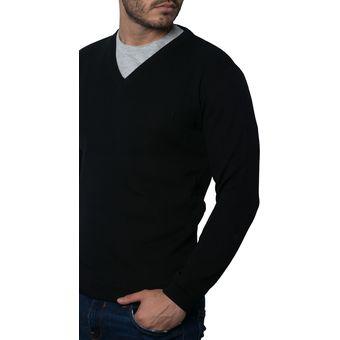 Compra Saco Polo 201 Totas Para Hombre Negro online  5126fbce0fd