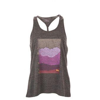 Polera Crux T-Shirt Melange Gris Oscuro Lippi