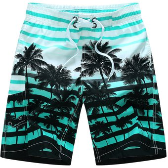 Compra Bermuda Surf Shorts Beach Swimming Trunks Para Hombre -azul ... 8d07282b70c