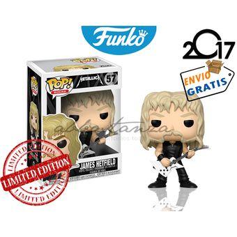 Compra James Hetfield Funko Pop Metallica Banda Rock Envio Gratis ... fccef106b4f