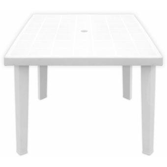 Mesa de pl stico patas desmontables cuadrada 80 x 80 cm - Mesas para ninos de plastico ...