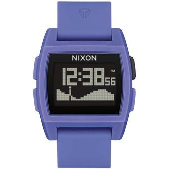 Reloj Base Tide Purple Resin Nixon Unisex