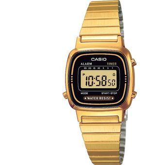 c9778d4d9136 Compra Reloj Dama Casio Vintage LA670WG Negro online