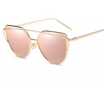 eefea6d0d7 Compra Gafas De Sol WISH UV400, Gafas De Sol Rosadas Para Mujer Gold ...