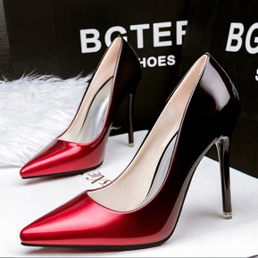 Zapatos De Tacon Fashion-Cool Para Mujer-Rojo a087a58e8000