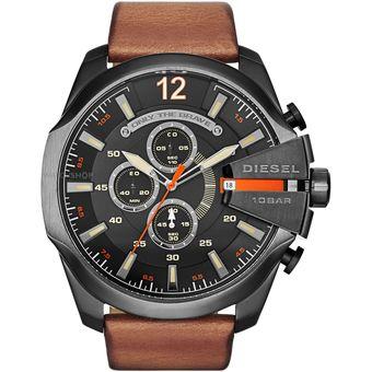 87aa91327158 Compra Reloj Diesel DZ4343 - Mega Chief negro y cafe online