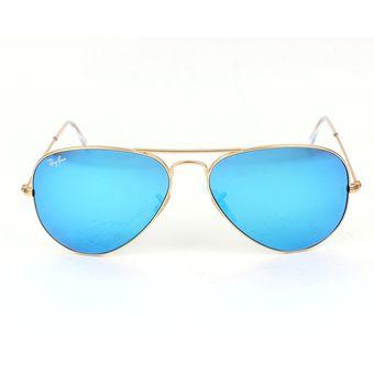2c29934acf21c Compra Anteojos de sol Ray-Ban Aviator 3025 112 17-1 - Azul online ...