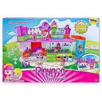 Multicolor Pinypon Playset Ciudad Pinypon Ciudad Navideña Playset 5ALRj4