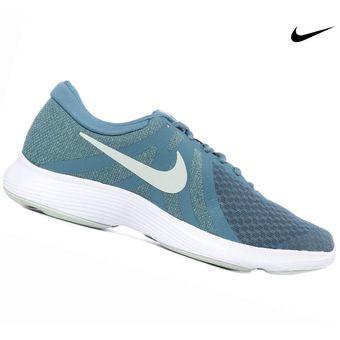 Zapatilla Nike Revolution 4 Para Dama Celeste