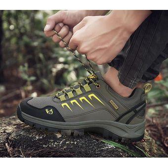 7f28ab9f985 Compra Hombre Y Mujer Zapatos De Senderismo Al Aire Libre De Otoño E ...