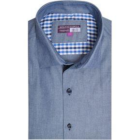 Camisa Bruno Corza Slim Fit Trend e555129128ee8