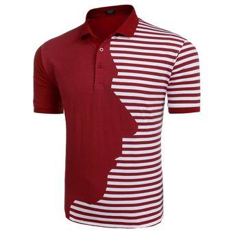 fab833aa553b7 Compra Camisa Polo Raya Yucheer para hombre Rojo online