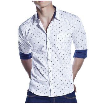 503c13f01 Camisa Juvenil Para Hombre Marketing Personal 60932 Blanco/Negro