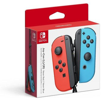 Joystick Nintendo Switch Joy Con Azul Y Rojo