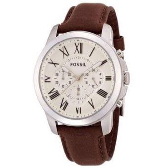 cbc991b89dad Compra Reloj Fossil FS4735IE Cafe Hombre Cuero online