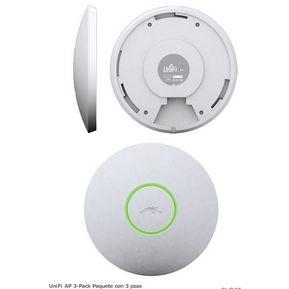 Ubiquiti UniFi Access Point - WiFi -Standard - PACK 3 unidades  UBN-3UAP 6317dcfd297bb