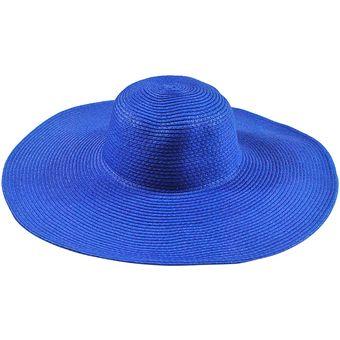 Compra E-Thinker Sombrero Para El Sol Para Playa Sombrero Grande ... 9d831af9838