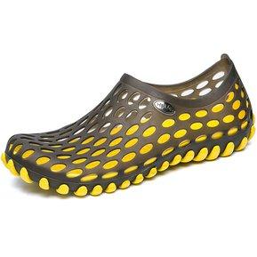 01ce51313ba Parejas Playa Zapatos para el agua Jardín Zuecos sandalias hombre cuero