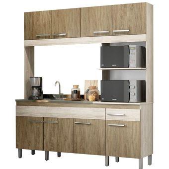 Kit Mueble Cocina 8 Puertas 1 Cajón Malbec 13831 / Fernapet