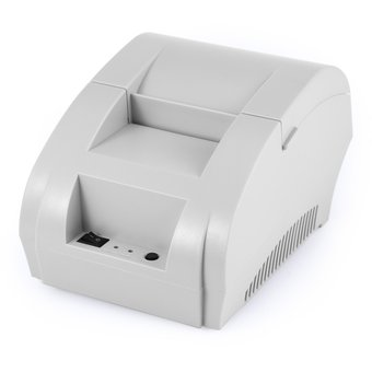 c7285bed417 Zj - 5890K Impresora Térmica De Recibos De Pos Usb De 58 Mm Portátil-Blanco