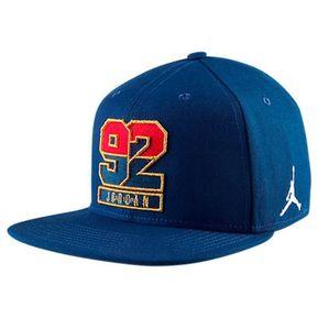 AIR JORDAN - Gorra Hombre AIR JORDAN RETRO 7 OLYMPIC USA HAT - Azul a36aef18031