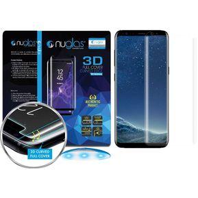 e5d87a8e0c Lámina Vidrio para Galaxy S9 Plus NUGLAS Full Adhesivo Transparente