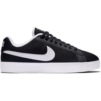 Nike Court Royale LW TXT, Zapatillas de Deporte para Hombre, Blanco (Black/White), 43 EU