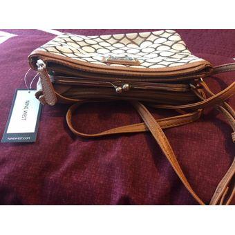 c67eb616252ae Compra Bolsa Nine West Dama Cafe - 100% Original online