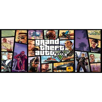 Compra Juego Grand Theft Auto 5 Gta 5 Ps4 Espanol Nuevo Sellado
