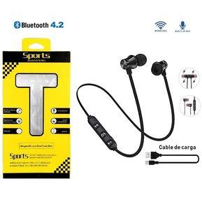 fc08bc9a8a8 Audífonos Magnéticos Bluetooth Llamada Música Iphone Android.