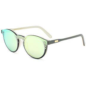 bbd0862e4b Lentes De Sol L.A. Rosa Efecto Espejo Blanco Sunglasses