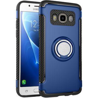 dcb75d8bab3 Estuche Protector MOONCASE Funda Para Samsung Galaxy J7 J710 (2016)-Azul
