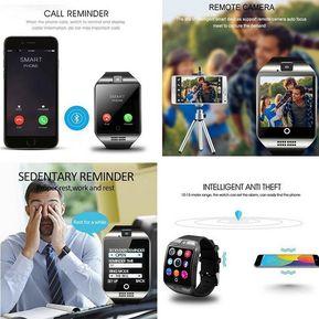 a275564d64e5 Reloj Q18 Inteligente Bluetooth Para IOS Teléfono Android-Blanco