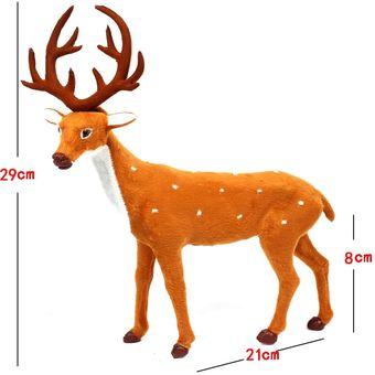 Compra Navidad Simulacion Ciervo Navidad Decoracion Tamano 29 21 - Ciervo-navidad