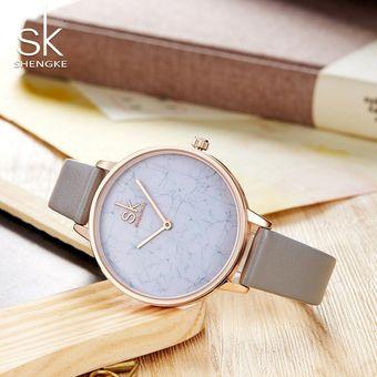 638ded680430 Compra Reloj Mujer Cuarzo Reloj Pulsera Simple Cuero Reloj-Negro ...