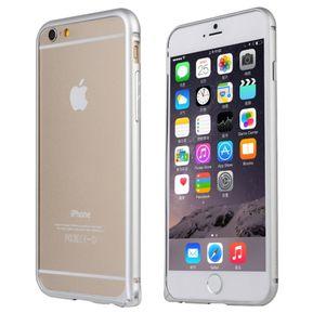 87f7c0824 Love Mei - Bumper Case Aluminio Para Iphone 6 - Plateado