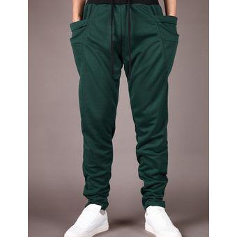 381ee5b36e7 Pantalones de chándal de los hombres Pantalones de moda Pantalones de hombre -verde