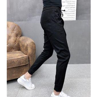 Modernos Pantalones Informales Para Hombre Mallas Tobilleras Negras Y Azules Para Verano Talla Yua Linio Colombia Ge063fa0l5e2jlco