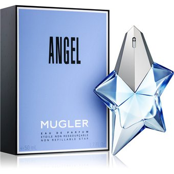 Compra Perfume Para Mujer Angel Mugler 50 Ml Edp Refilable Spray