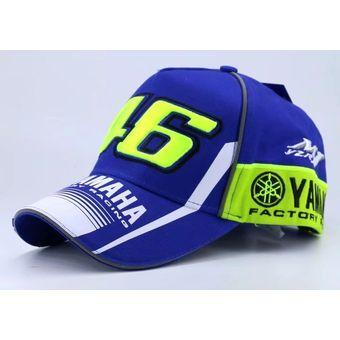Compra Gorra Yamaha Valentino Rossi 46 Yzr-m1 Original Oficial ... 806108b803f