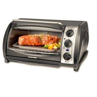 Compra black decker horno electrico negro online for Horno electrico black decker