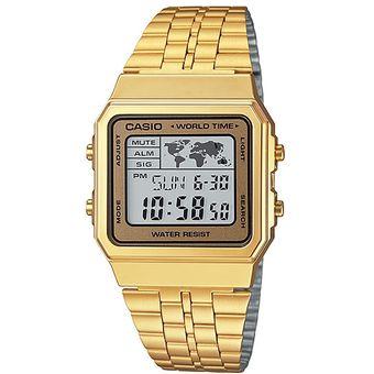 7d9982f8d494 Compra Reloj Casio Vintage A500 Dorado Cara Dorada online